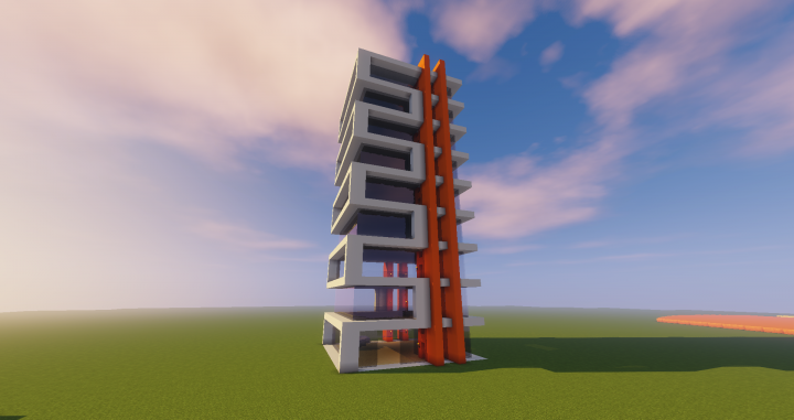 Modern Office Building Minecraft Map
