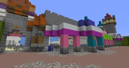 Walt Disney's It's A Small World:  Magic Kingdom Minecraft Map & Project