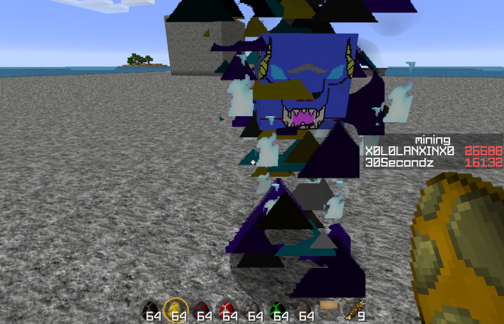 Blaze as Blue Eyed Beast