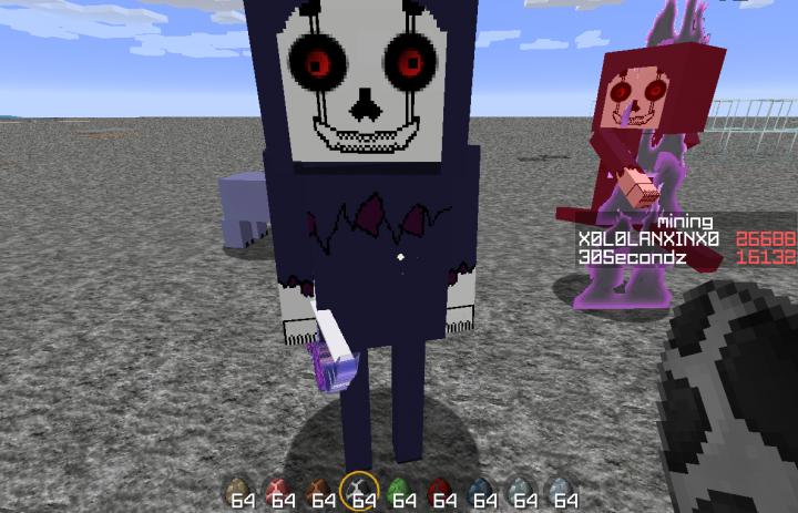 Skeleton as Fatal Scythe