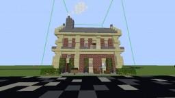 Suburban chunk train station Minecraft Map & Project