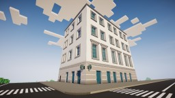 Euro Townhouse #01 Minecraft Map & Project