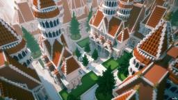 Zerath's White Mansion Minecraft