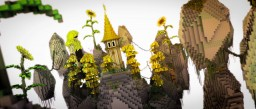 Free Yellow Themed Hub | By TheBiome Minecraft Map & Project
