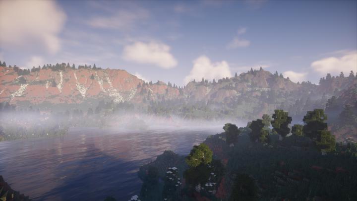 4k x 4k] Isle of Marne Minecraft Project