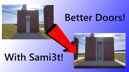 Minecraft: How to Improve you're door designs! || CARLTON SERVER Minecraft Blog