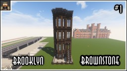 Minecraft - Brooklyn Brownstone Townhouse #1 Minecraft Map & Project