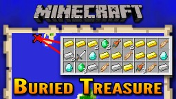 How To Find Buried Treasure in Minecraft (Aquatic Update) Minecraft