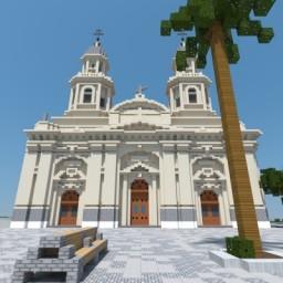 Santiago Metropolitan Cathedral Minecraft