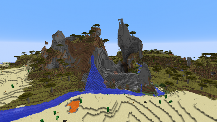 A nearby savanna. I will likely develop on that area maybe some kind of house or something
