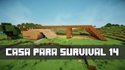 Survival House 14 / Casa para Survival 14 Minecraft Map & Project