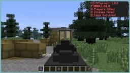 the crafting dead Minecraft Map & Project