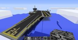 CVN AIRCRAFT CARRIER Minecraft Map & Project