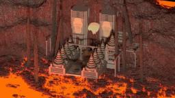 Anunaki temple Minecraft Map & Project