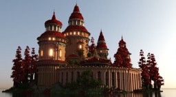 The Red Palace Minecraft Map & Project