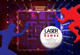 Laser Game - A vanilla Lazer Tag - Minecraft Map & Project