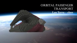 Leo Terra - Class Orbital Passenger Transport Minecraft