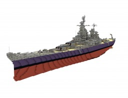 USS Missouri (update) Minecraft