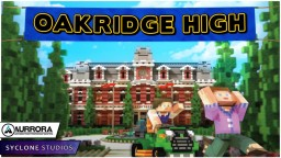 Oakridge High - Role-Play | Available Now On The Bedrock Marketplace! Minecraft Map & Project