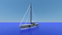 Modern Sailing Yacht Minecraft