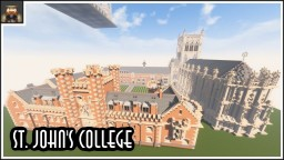 Minecraft - St. John's College Minecraft Map & Project