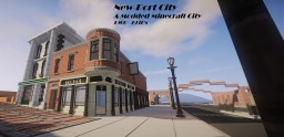 New-Port City (A Modded City) Minecraft Map & Project