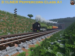 LNER A1 Class Peppercorn Steam Locomotive Minecraft Map & Project