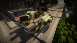 1924 MK.I - Royal Imperial Infantry Tank Minecraft Map & Project