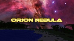 ORION NEBULA! A Night & Day Sky Texture Pack Minecraft Texture Pack