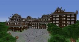 Sakura Hotel & Shopping Centre Minecraft Map & Project