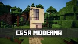Casa Moderna (5x5) / Modern House (5x5) Minecraft Map & Project