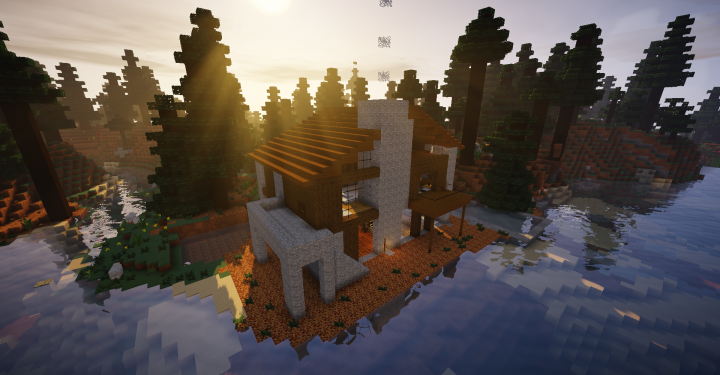 Chalet moderne Minecraft Project