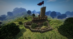 Ortembourg castle Minecraft Map & Project