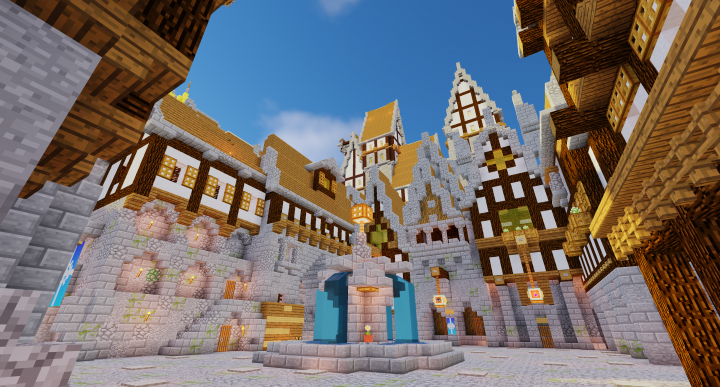 Main Square with guildhall