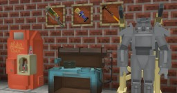 VAULTPACK 1.13 - A Fallout 3D Model Pack Minecraft