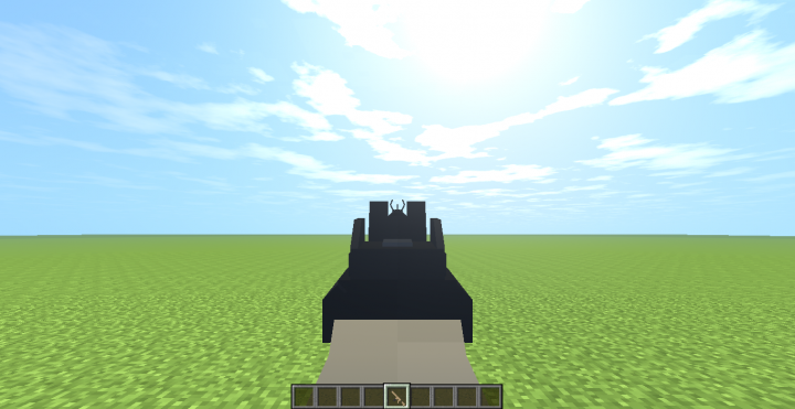 HK 416 aiming view