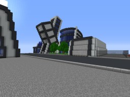 XLABS Tower Complex Minecraft Map & Project