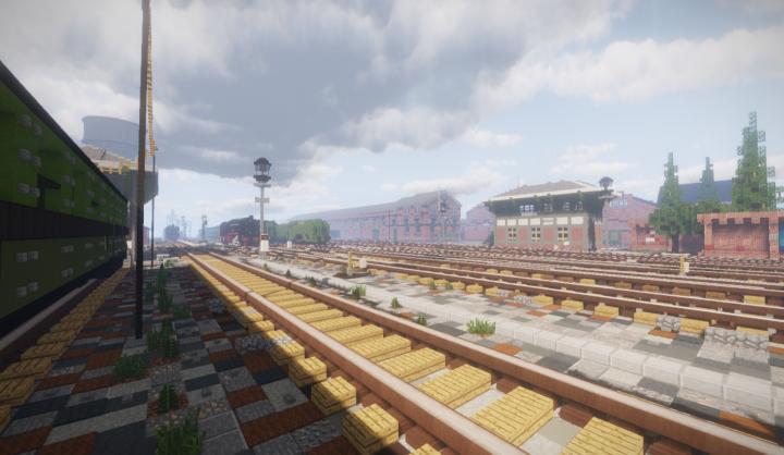 The signalbox of the railyard