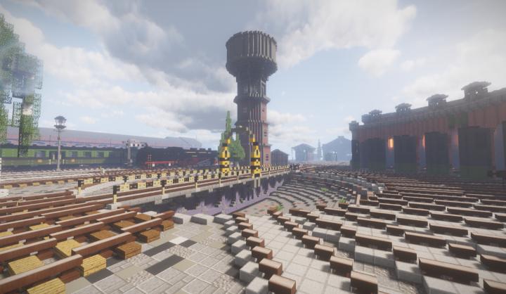 The watertower of the railyard