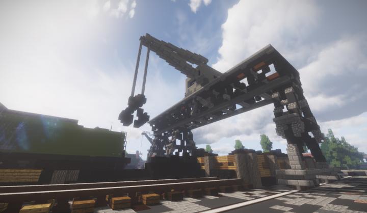 Coal crane