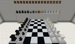3D Chess Sets by Sibsib92 Minecraft Texture Pack