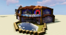 Classic Villa Minecraft Map & Project