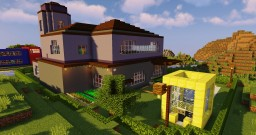Realistic Mansion Minecraft Map & Project