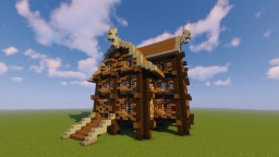 Medieval Hotel Minecraft Map & Project