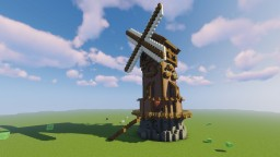 Medieval Mill Minecraft Map & Project