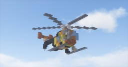 Hughes MD 500 from MAGNUM PI Minecraft Map & Project