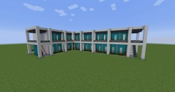 Motel With Clothes Shop Minecraft Map & Project