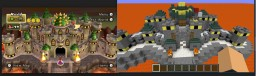 Bowser's Castle Minecraft Map & Project