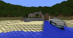 Batman's Island Getaway Minecraft Map & Project
