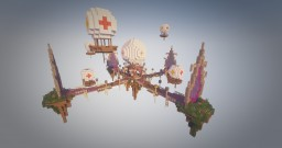 Server Lobby with 4 portals Minecraft Map & Project